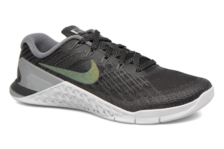 Sportschuhe Nike Wmns Nike Metcon 3 Mtlc blau detaillierte ansicht/modell