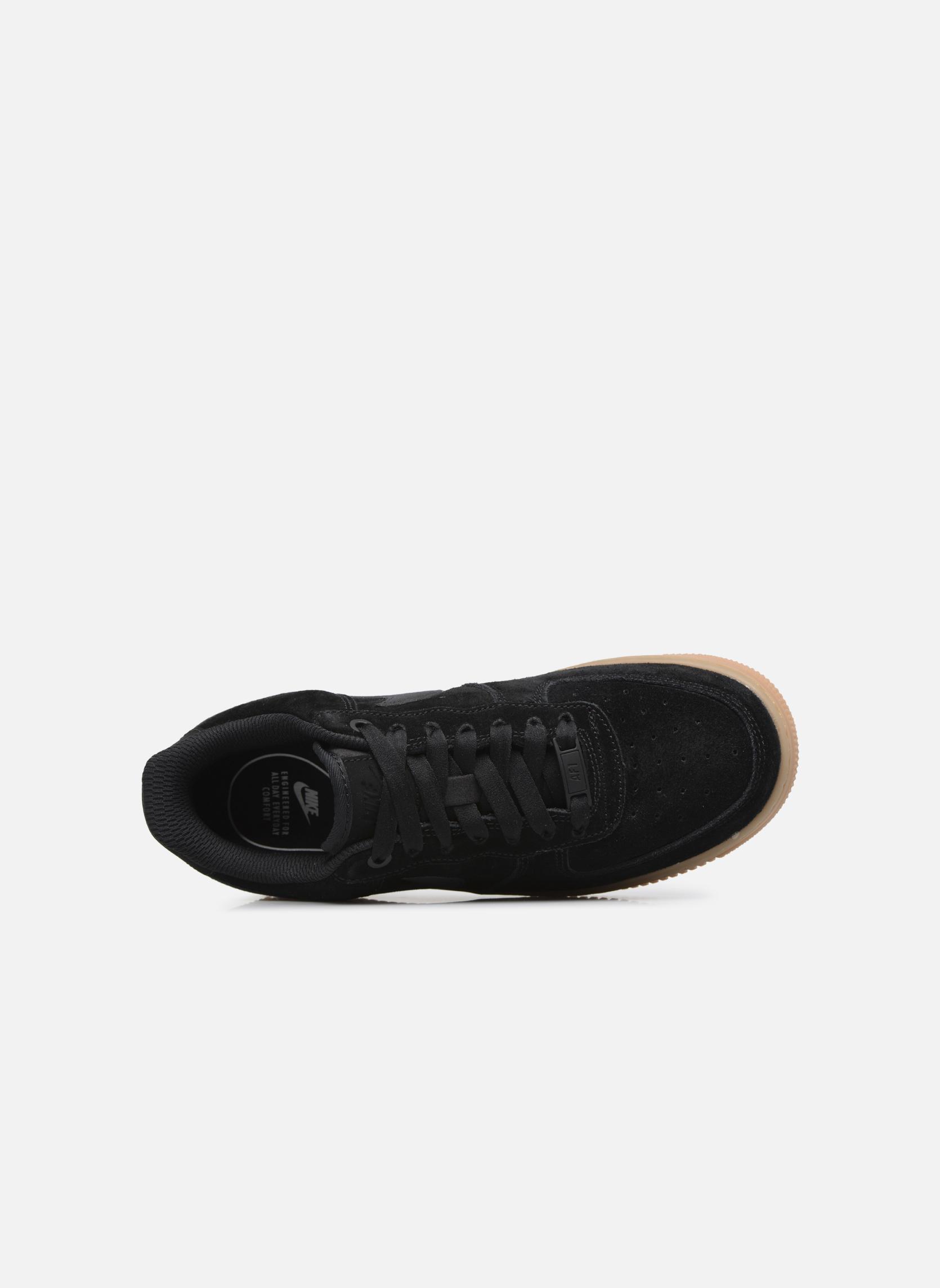 Sneaker Nike Wmns Air Force 1 '07 Se schwarz ansicht von links