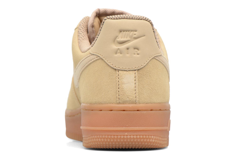 Baskets Nike Wmns Air Force 1 '07 Se Beige vue droite
