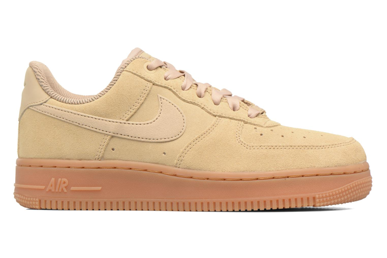 Baskets Nike Wmns Air Force 1 '07 Se Beige vue derrière