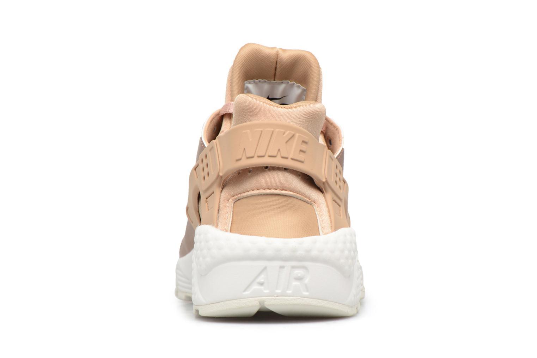 Baskets Nike Wmns Air Huarache Run Prm Txt Or et bronze vue droite