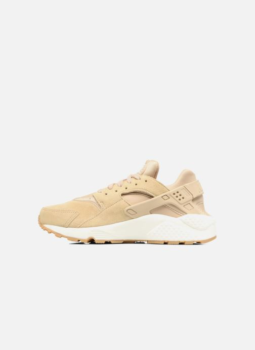 Baskets Nike Wmns Air Huarache Run Sd Beige vue face