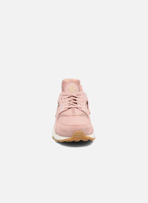 Sneaker Nike Wmns Air Huarache Run Sd rosa schuhe getragen