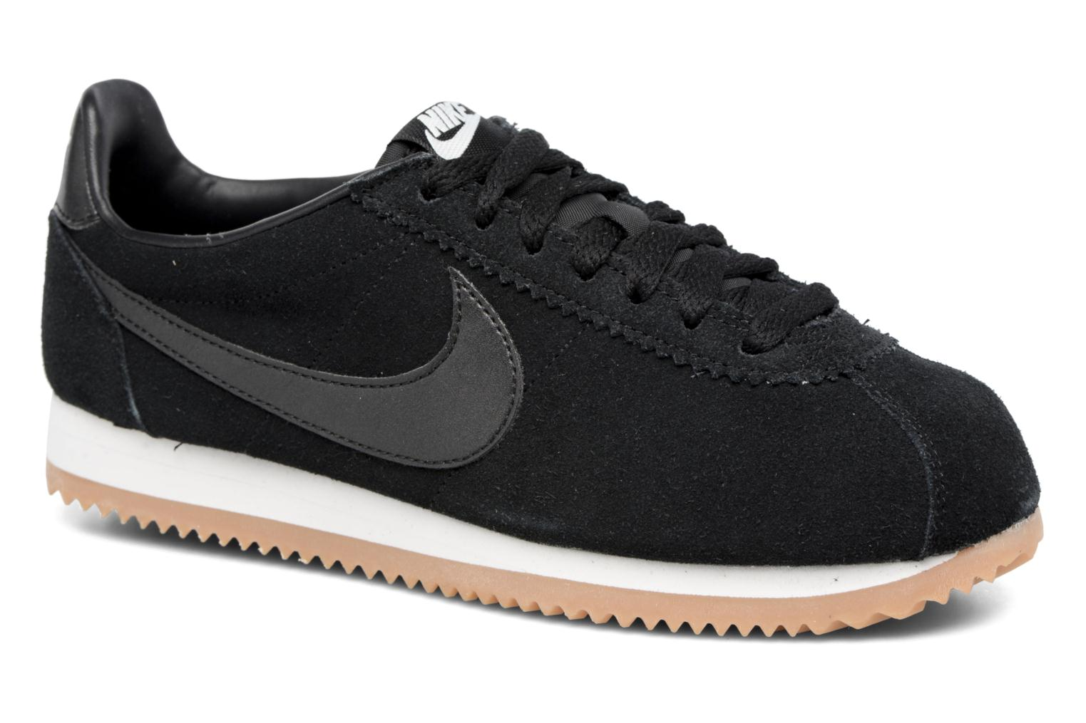 Sneakers Nike Wmns Classic Cortez Suede Wit detail