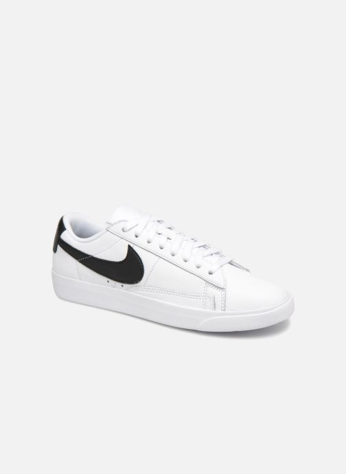Sneakers Nike W Blazer Low Le Hvid detaljeret billede af skoene