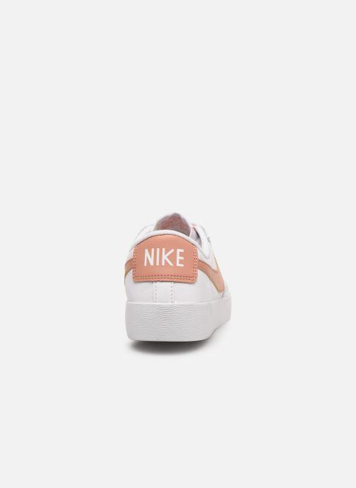 Sneakers Nike W Blazer Low Le Wit rechts