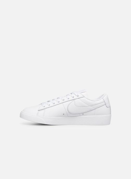 Sneakers Nike W Blazer Low Le Wit voorkant