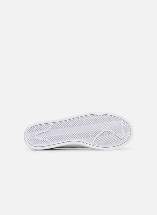 Deportivas Nike W Blazer Low Le Blanco vista de arriba