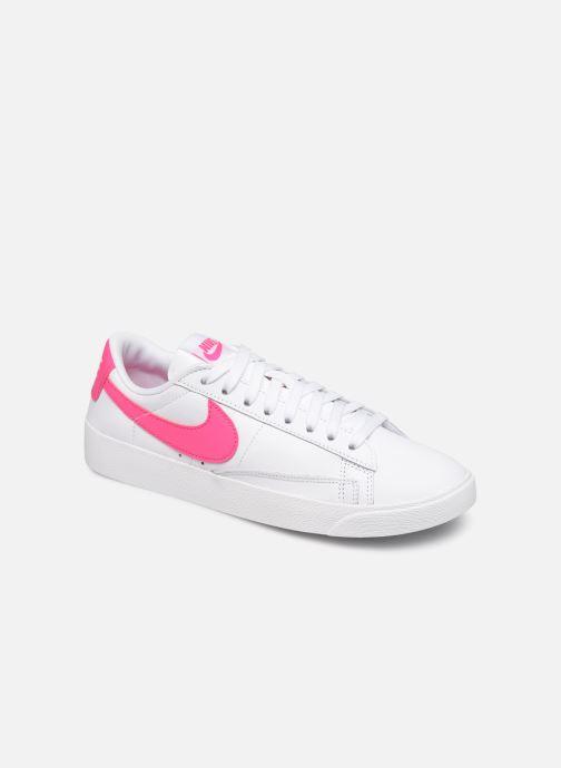 Baskets Nike W Blazer Low Le Blanc vue détail/paire