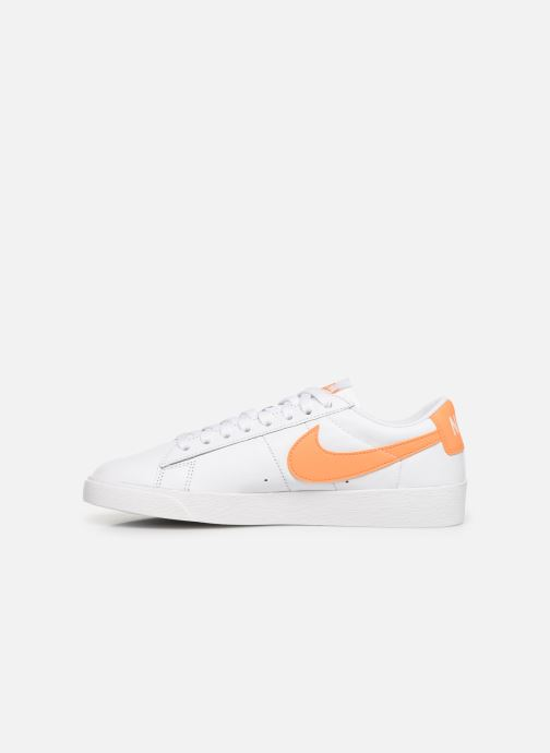 Deportivas Nike W Blazer Low Le Blanco vista de frente