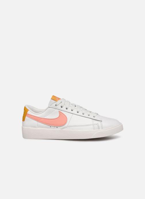 Sneaker Nike W Blazer Low Le weiß ansicht von hinten