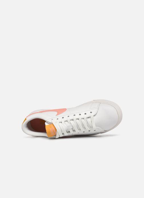Sneaker Nike W Blazer Low Le weiß ansicht von links