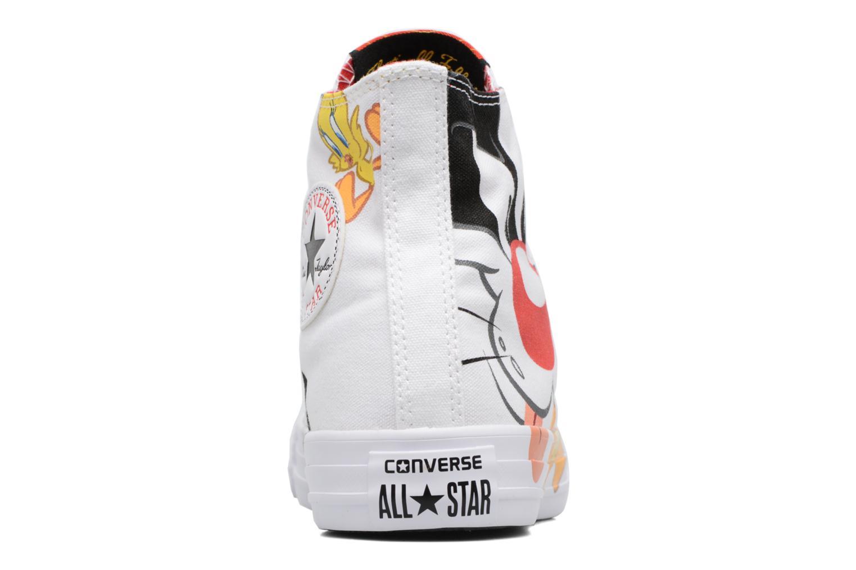 Baskets Converse Chuck Taylor All Star Looney Tunes Hi W Blanc vue droite
