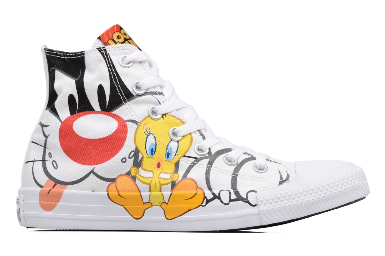 Baskets Converse Chuck Taylor All Star Looney Tunes Hi W Blanc vue derrière