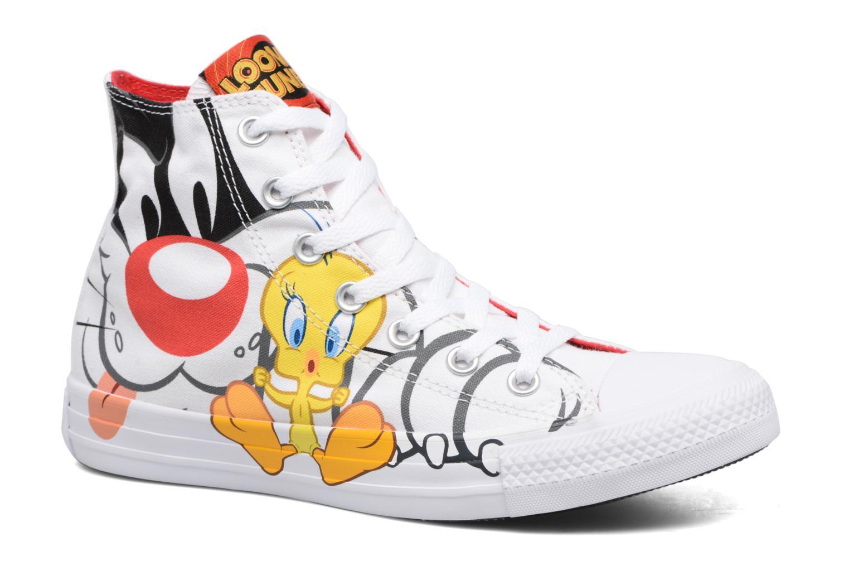Baskets Converse Chuck Taylor All Star Looney Tunes Hi W Blanc vue détail/paire