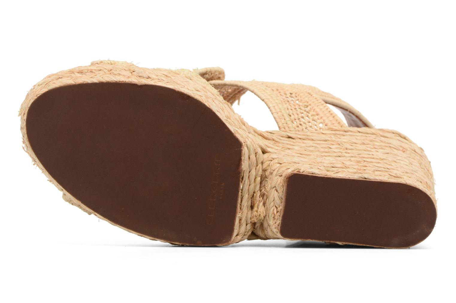 Sandals Clergerie DYPAILLE Beige view from above