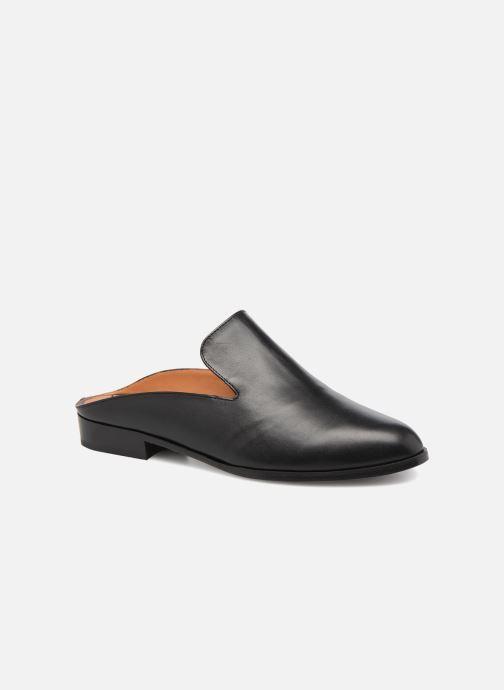Clogs & Pantoletten Clergerie ALICEO schwarz detaillierte ansicht/modell