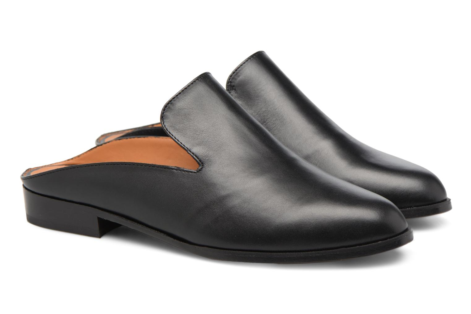 Mules & clogs Clergerie ALICEO Black 3/4 view