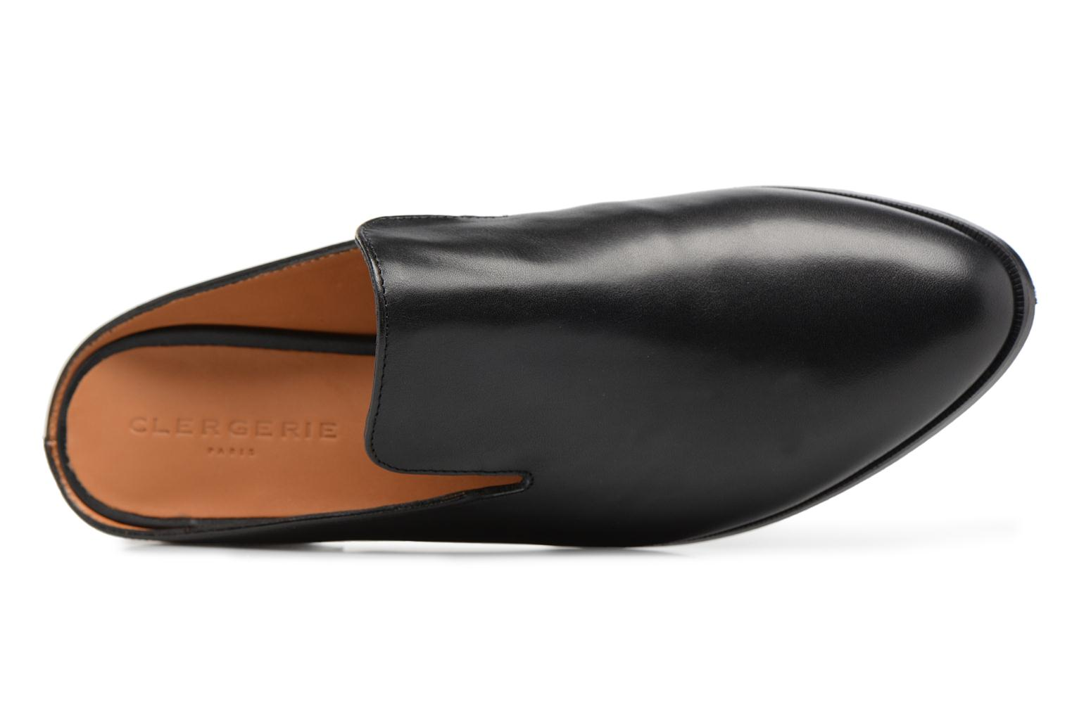 Mules & clogs Clergerie ALICEO Black view from the left