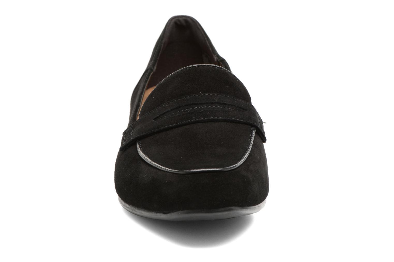 Mocassins Clarks Keesha Cora Noir vue portées chaussures
