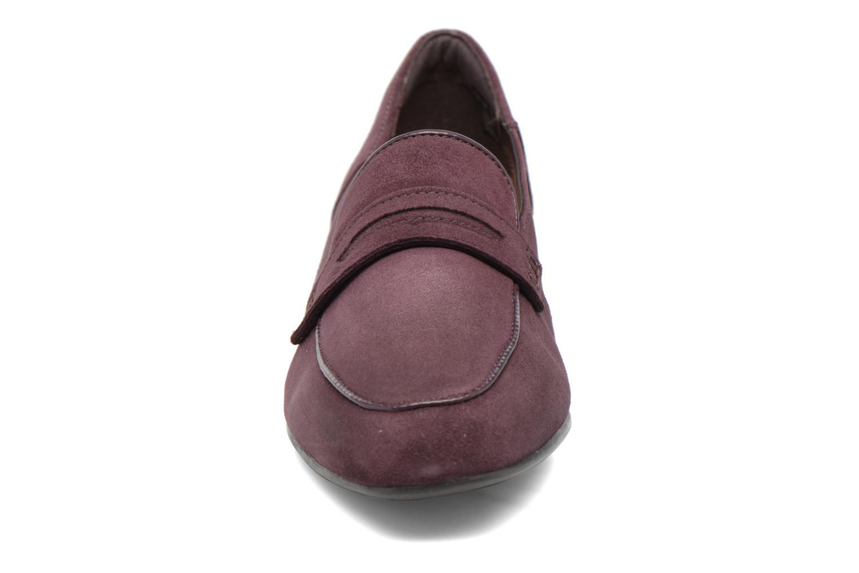 Mocassins Clarks Keesha Cora Violet vue portées chaussures