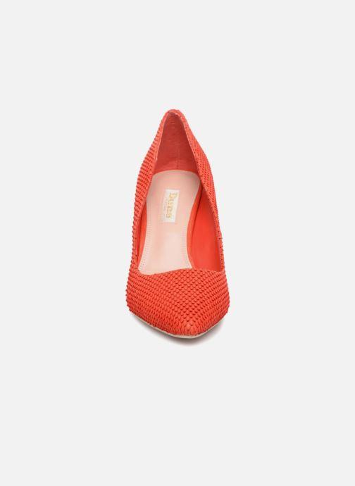 Escarpins Dune London AURRORA Rouge vue portées chaussures