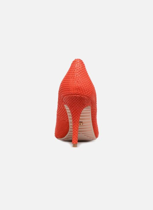 High heels Dune London AURRORA Red view from the right