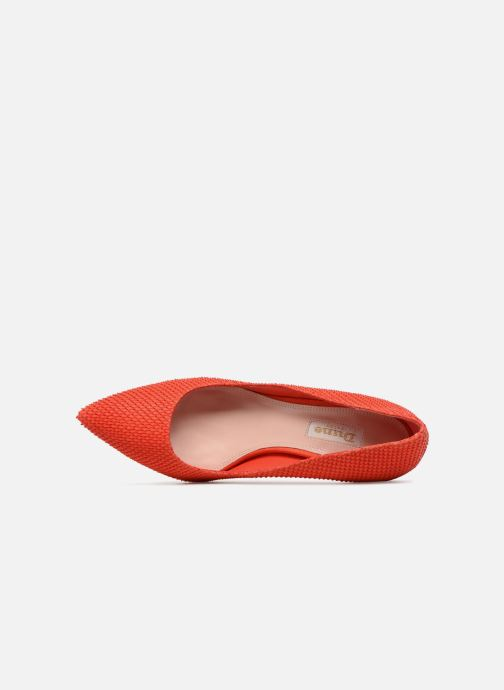 High heels Dune London AURRORA Red view from the left