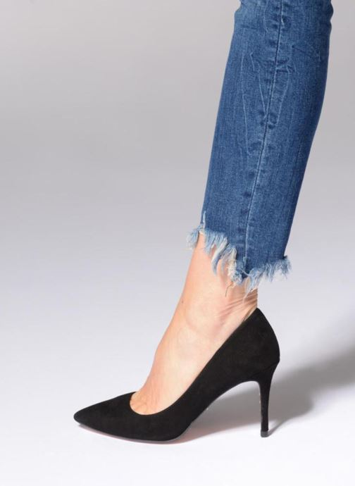 High heels Dune London AURRORA Blue view from underneath / model view