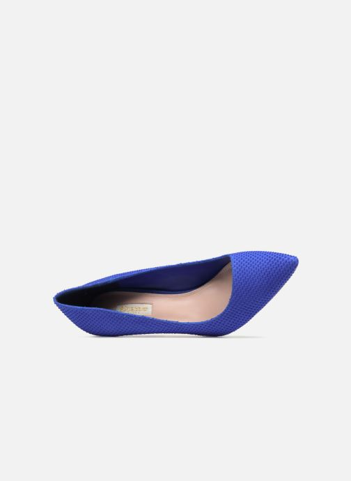 Escarpins Dune London AURRORA Bleu vue gauche