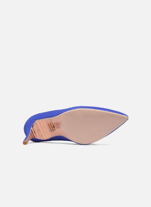 Escarpins Dune London AURRORA Bleu vue haut