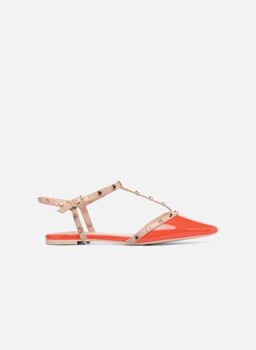 Sandales et nu-pieds Dune London CAYOTE Rouge vue derrière