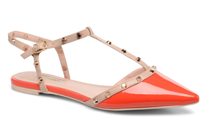 Dune London CAYOTE (Rouge) - Sandales et nu-pieds en Más cómodo Spécial temps limité