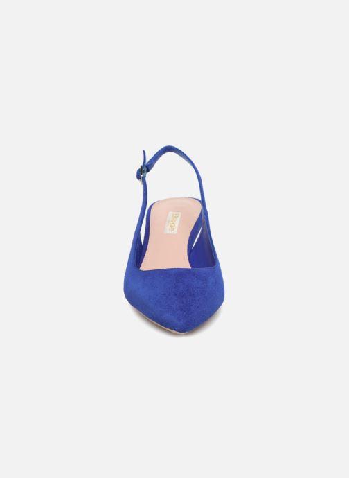Escarpins Dune London CASANDRA Bleu vue portées chaussures