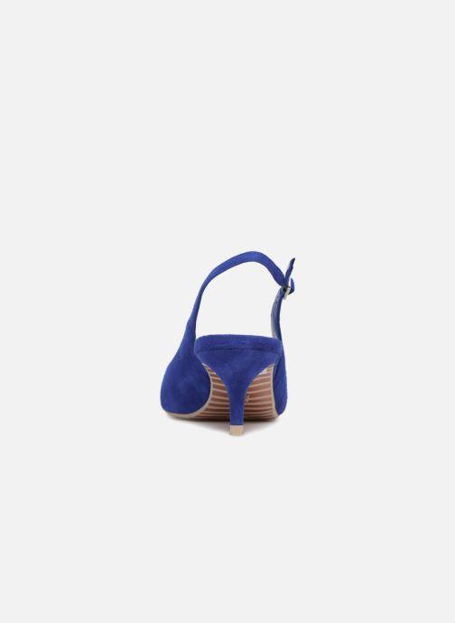 Zapatos de tacón Dune London CASANDRA Azul vista lateral derecha
