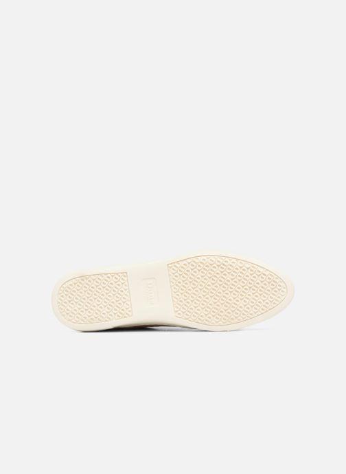 Chaussures à lacets Dune London ELEYNA Beige vue haut