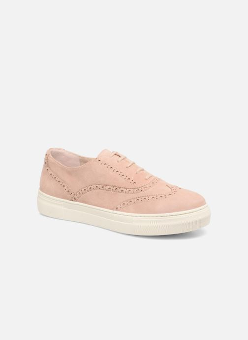 Veterschoenen Dune London ELEYNA Beige detail