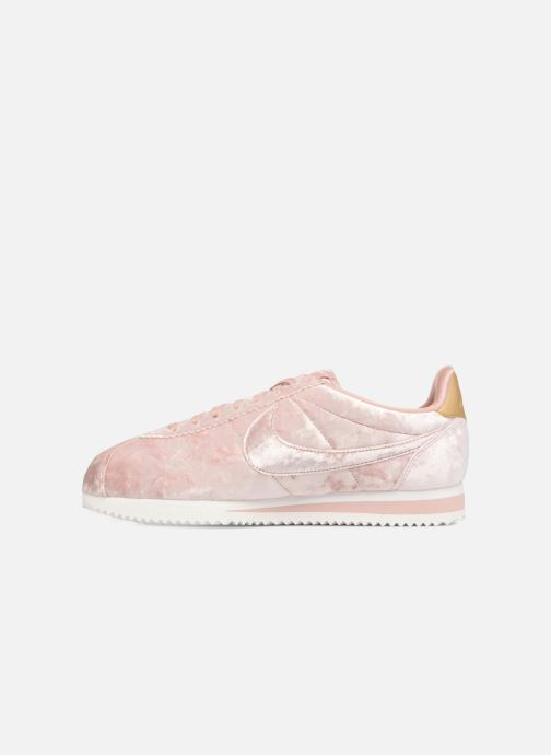 Trainers Nike Cortez Velvet Pink front view