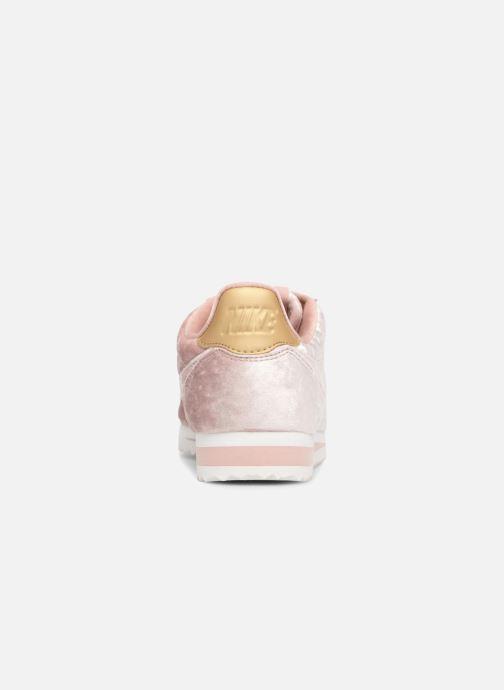 Sneakers Nike Cortez Velvet Pink Se fra højre