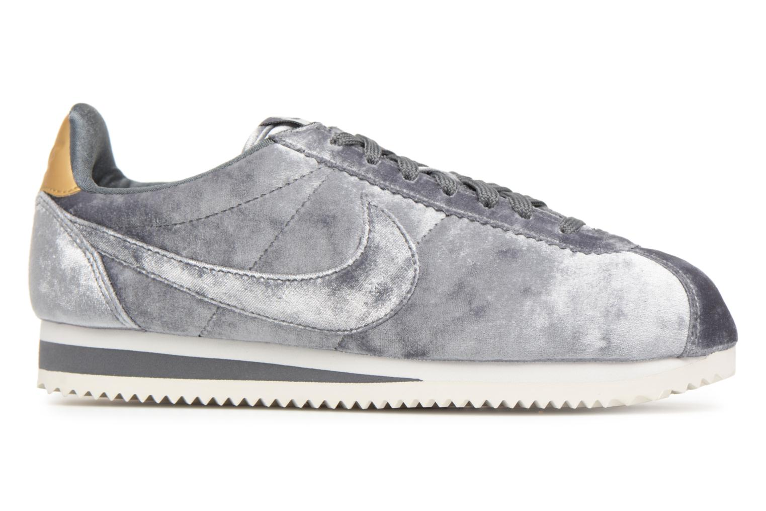 Trainers Nike Cortez Velvet Grey back view