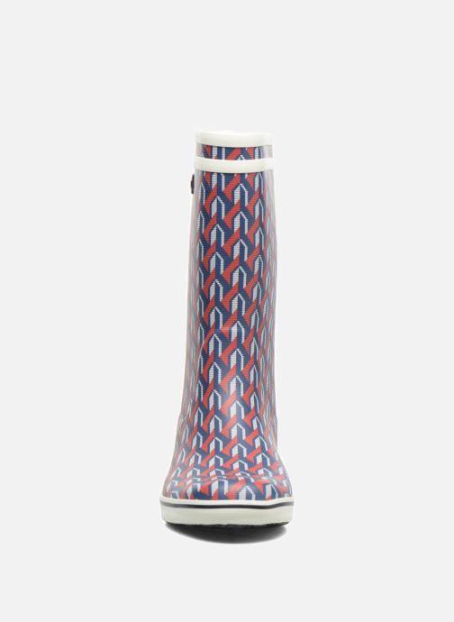 Bottes Aigle Malouine AIGLE x SARENZA Multicolore vue portées chaussures