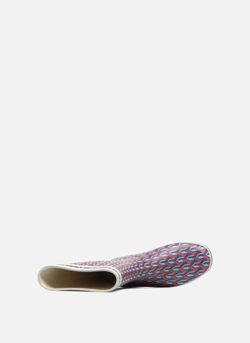 Stiefel Aigle Malouine AIGLE x SARENZA mehrfarbig ansicht von links