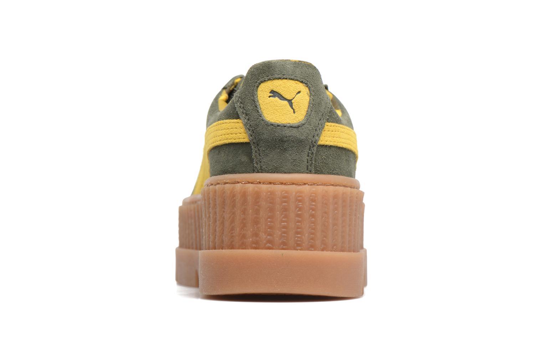 Baskets Puma Fenty Wn Cleated Creeper Vert vue droite