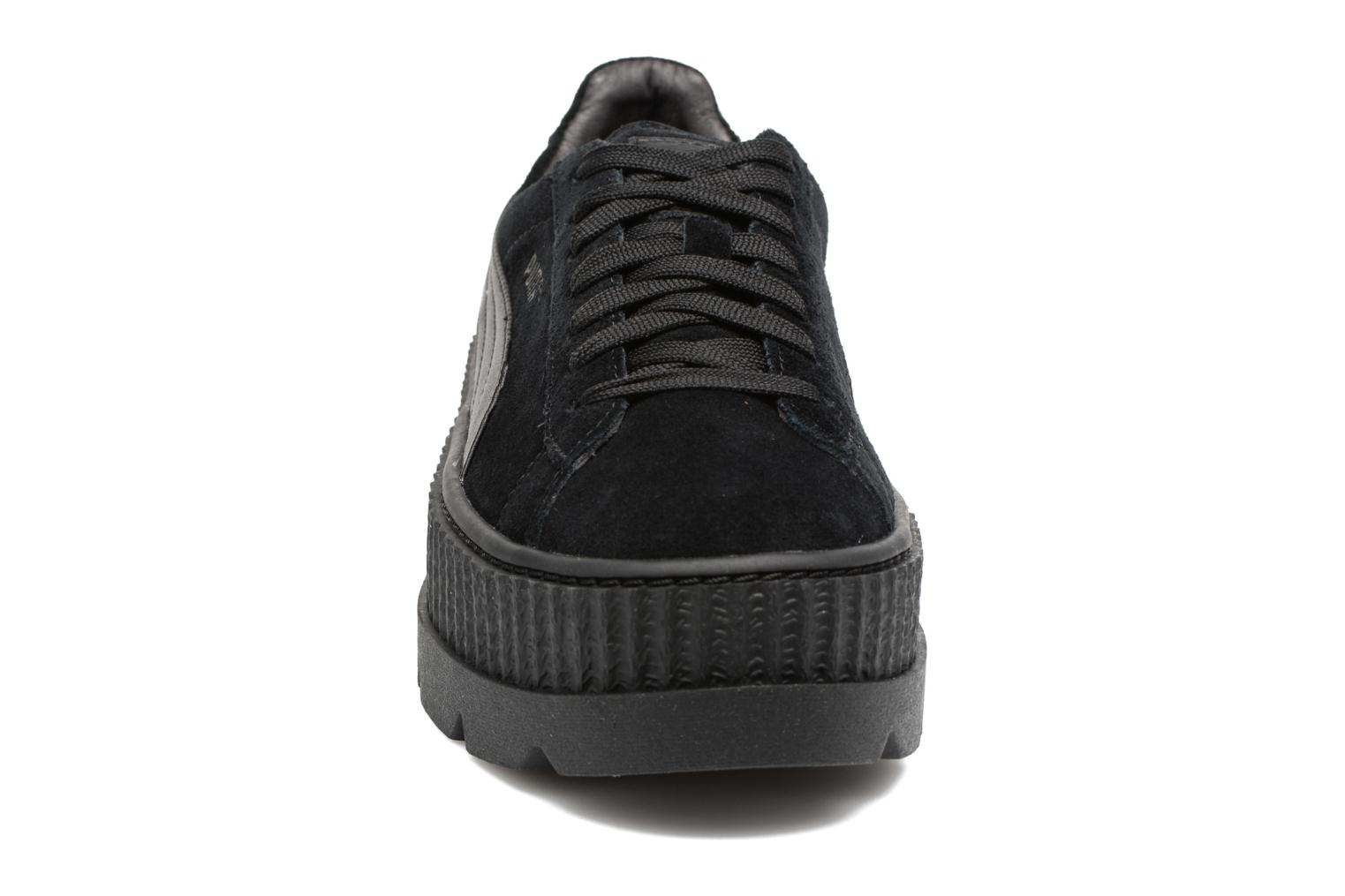 Baskets Puma Fenty Wn Cleated Creeper Noir vue portées chaussures