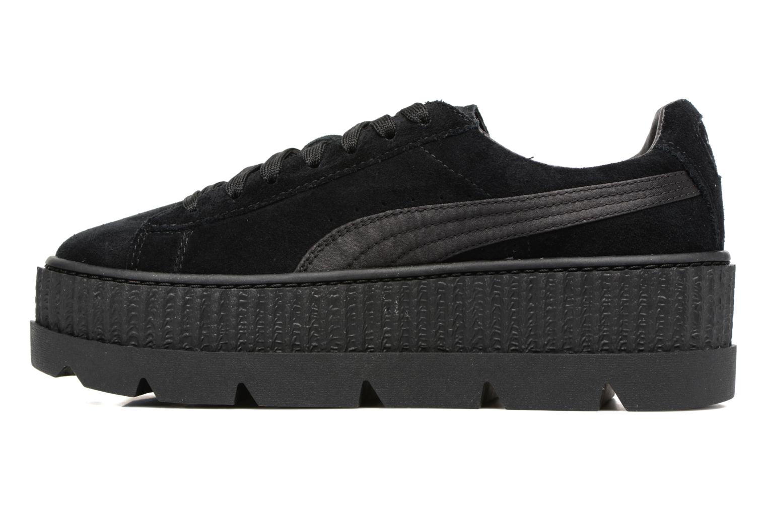 Baskets Puma Fenty Wn Cleated Creeper Noir vue face