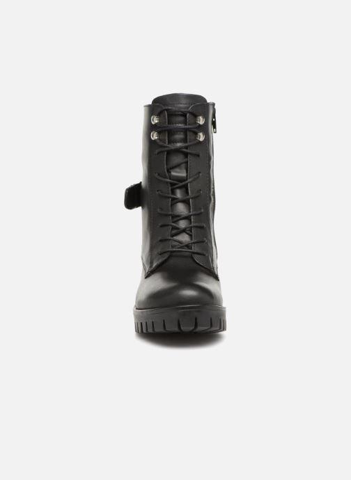 Bottines et boots Aldo SALMO Noir vue portées chaussures
