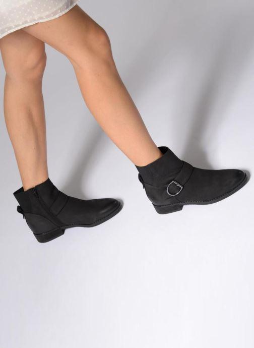 Bottines et boots Aldo PRALIA Noir vue bas / vue portée sac