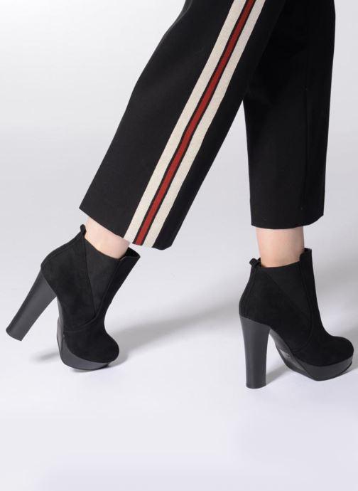 Bottines et boots Aldo ZALEDIA Noir vue bas / vue portée sac
