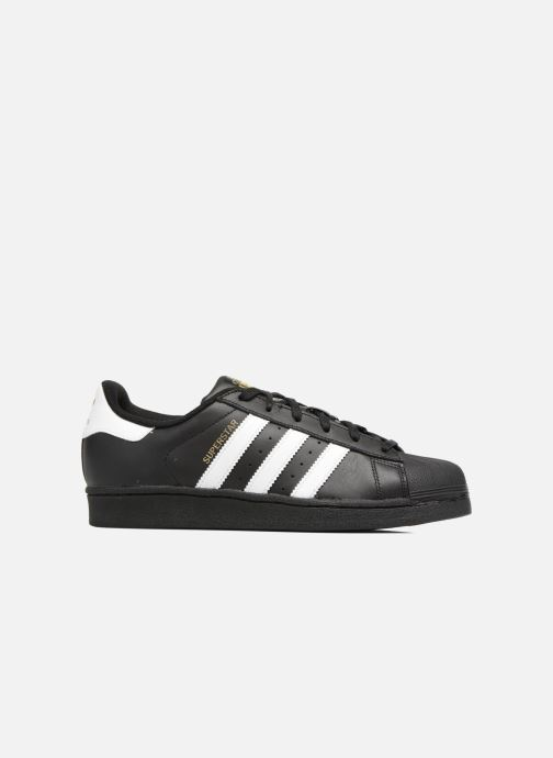 Trainers adidas originals Adidas Superstar Foundation W Black back view