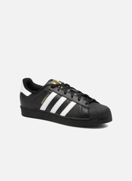 Trainers adidas originals Adidas Superstar Foundation W Black detailed view/ Pair view